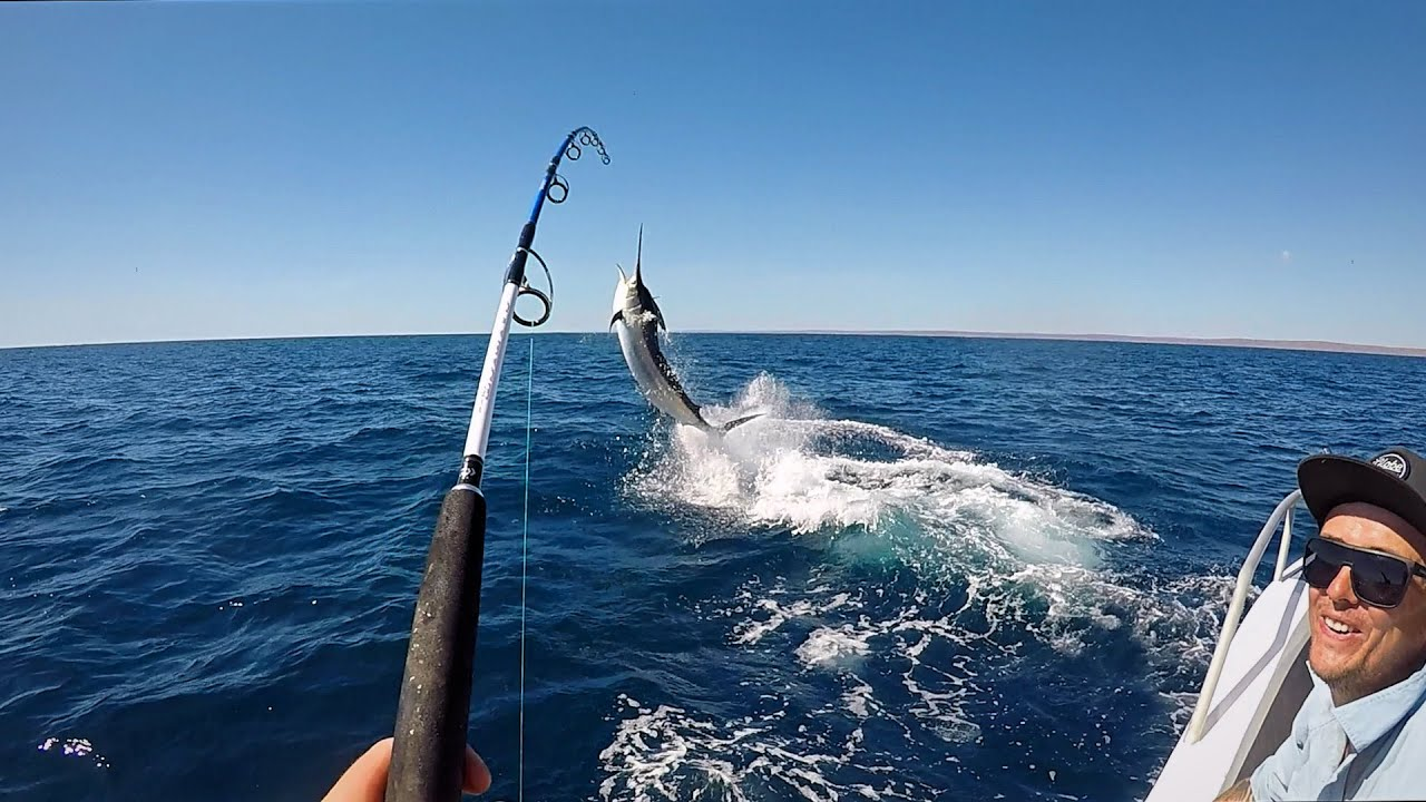 60 DAYS IN THE WILDERNESS...Marlin On A Jig EPISODE 9 (FISHING + WESTERN AUSTRALIA + VIDEOS)