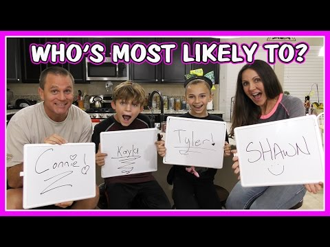 WHO'S MOST LIKELY TO CHALLENGE | We Are The Davises