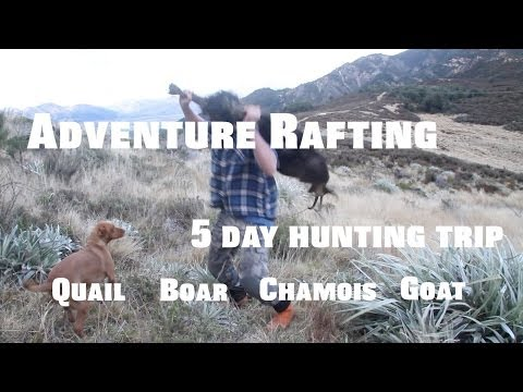Adventure Rafting and Hunting Trip for Chamois Boar Geese Quail Deer Goat