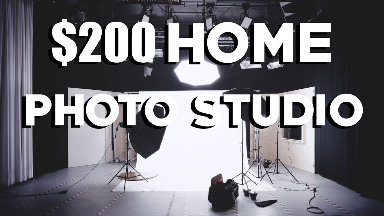 Portrait Studio - How to Set Up a Home Photography Studio for Under ...