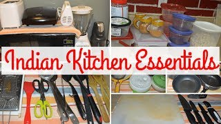 Beginners Special- Indian Kitchen Must Haves |Tips For New Kitchen Setup | Real Homemaking