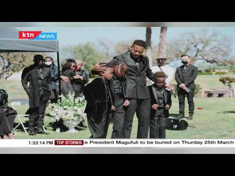 Kenyan artiste Christian Longomba laid to rest in the United States