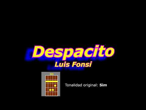 Despacito (Luis Fonsi) acordes guitarra cover