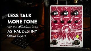 EarthQuaker Devices Astral Destiny Octal Octave Reverb Demo