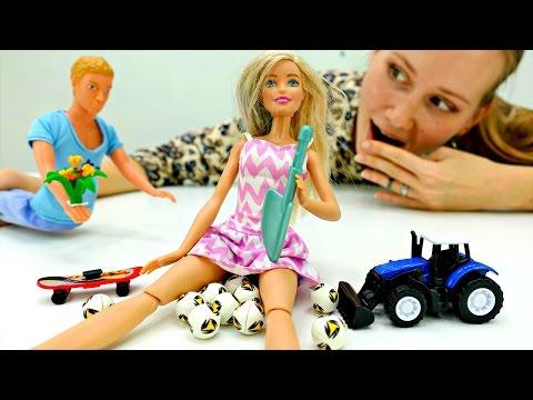 Кен выбирает подарок для #БАРБИ. Игры для девочек и видео про Барби куклы. Мамы и Дочки
