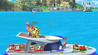 Mario & Sonic VS Bowser