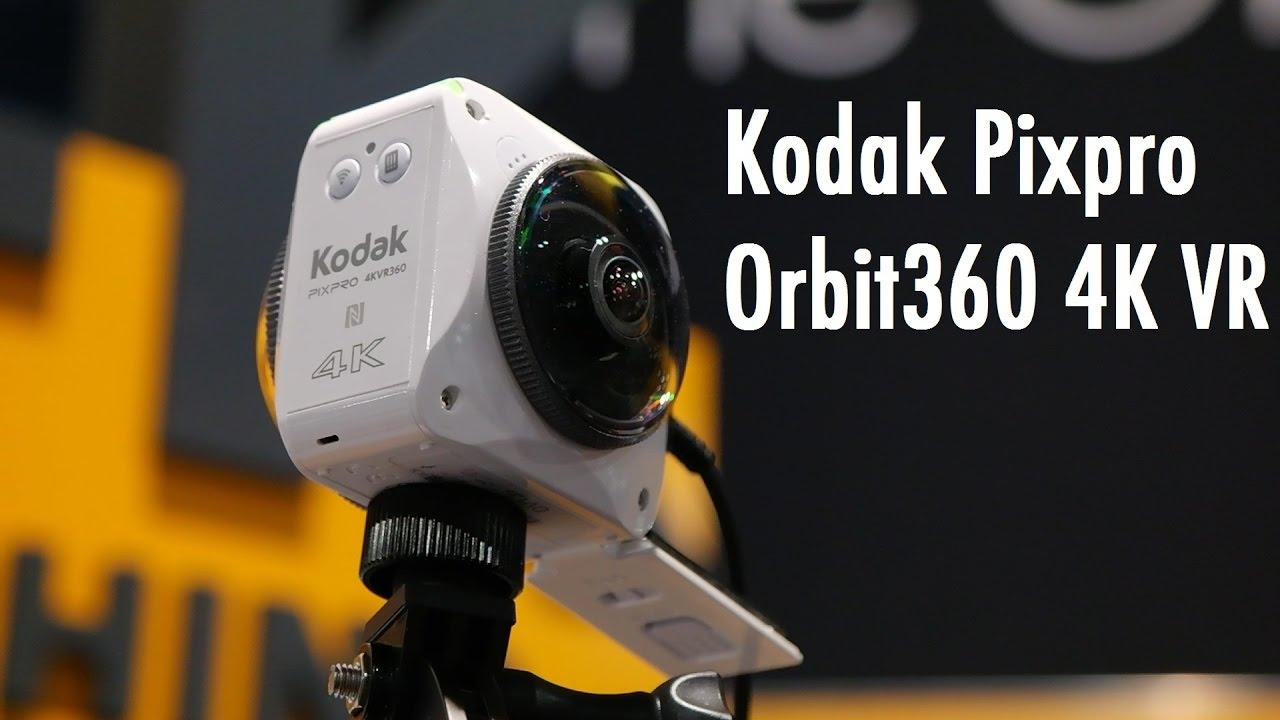 Kodak Orbit360 4K VR Action Camera: CES 2017 Hands On | Pocketnow