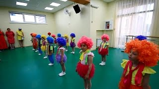"""Отчетный концерт, студия танца """"Солнышко"""", дети 4-5 лет, 2015 год, город Иркутск"""
