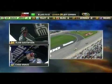 Jeff Gordon vs Jimmy Johnson-- Atlanta 2011