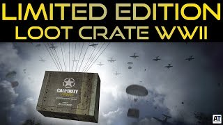 NUOVA LIMITED EDITION LOOT CRATE - COD WWII [WW2 ITA]