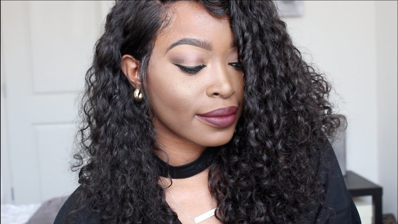 I Cant Believe How Affordable This Pre Plucked Deep Wavecurly 360