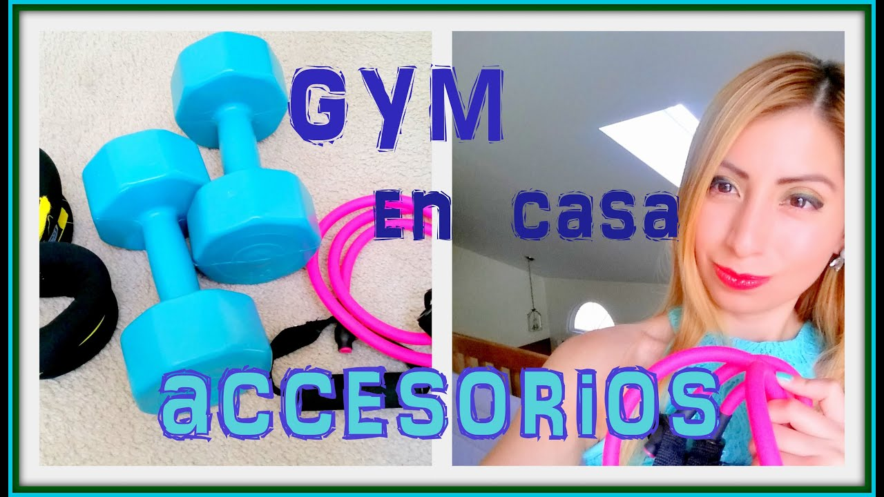 Accesorios para hacer tu gym en casa youtube for Gimnasio en casa