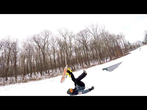Shawnee Mountain 2017 | Snowboarding in the Pocono Mountains