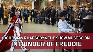 Honouring Freddie Mercury with Bohemian Rhapsody & The Show Must Go On Cole Lam 12 Years Old