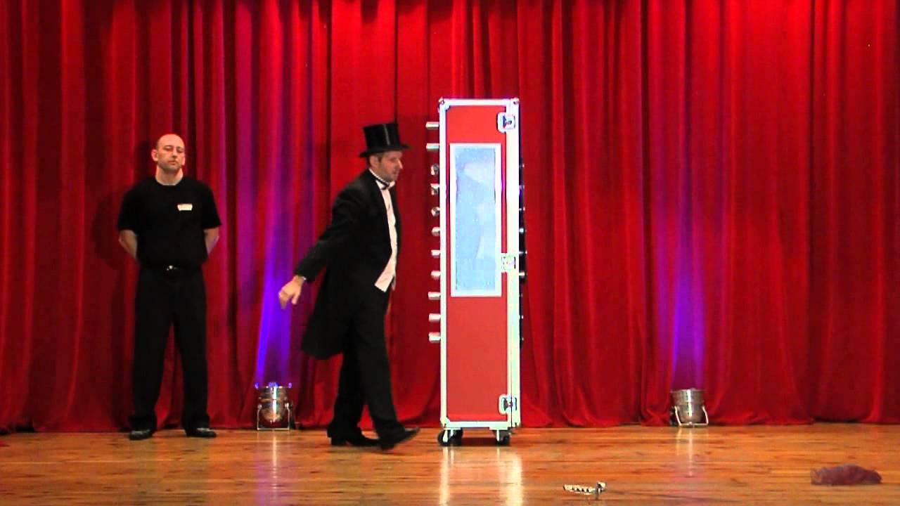 Amazing Magic RedBox - Cabinet Illusion by Markus magician ...