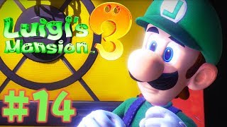 Luigi's Mansion 3 - Walkthrough Part 14: Super Suction Upgrades Gameplay!!