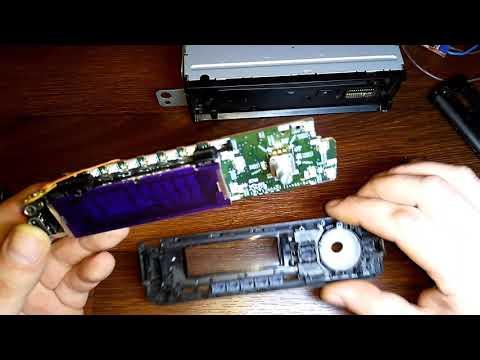 Ремонт двух магнитол  SONY но ремонтопригодная  оказалась только одна