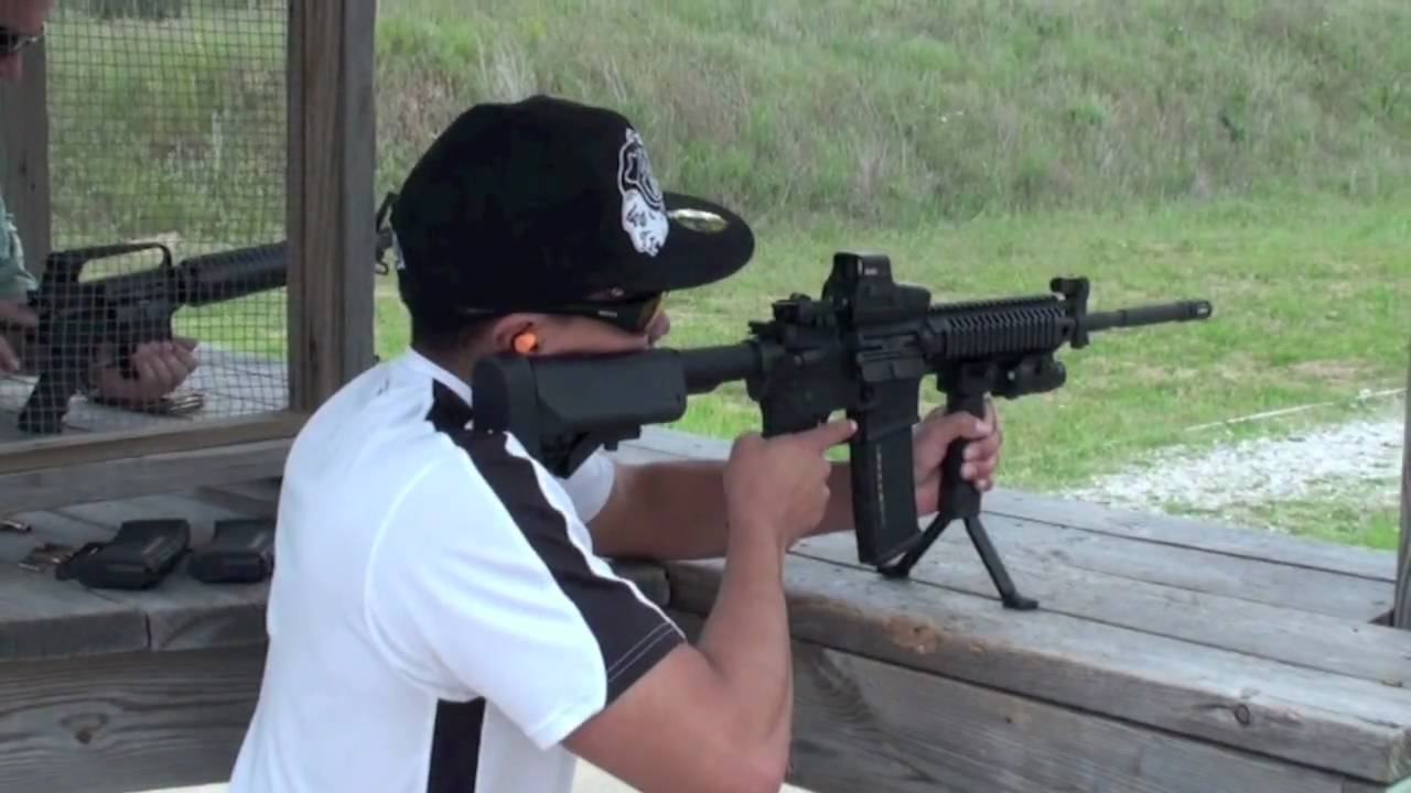 Shooting My Colt Le6940 Ar 15 M4 And More Youtube
