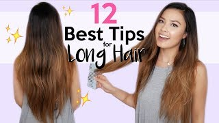 12 of My BEST Tips For Healthy, Long Hair ft. Ovation