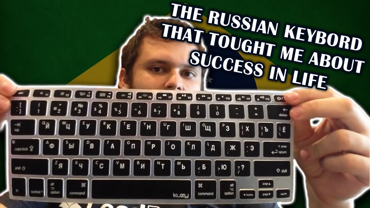 What typing on a Russian keyboard taught me about success