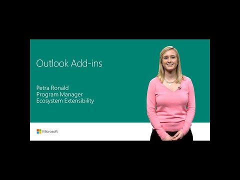 Tools for better messaging: Build add-ins for Microsoft Outlook | T194