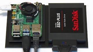 Raspberry Pi 4 OpenMediaVault NAS Video