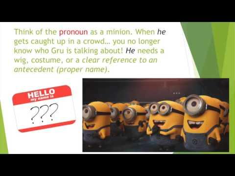 Vague Pronoun References