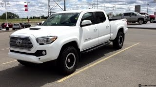 2016 Toyota Tacoma TRD Sport on 265/75R16 Tires