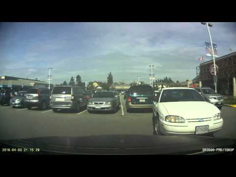 Parking lot accident in Richmond