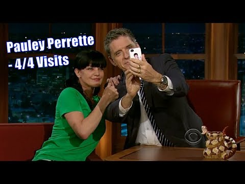 Pauley Perrette  Extremely Goofy, Geeky & Cute  44 Visits In Chronological Order