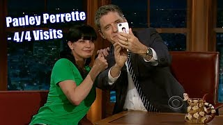 Pauley Perrette - Extremely Goofy, Geeky & Cute - 4/4 Visits In Chronological Order