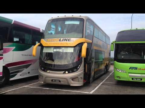 Aeroline Business Class Coach Services Kuala Lumpur - Singapore