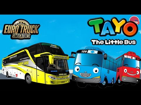 Tayo The Little Bus - Versi Dangdut | ETS 2 Mod Indonesia