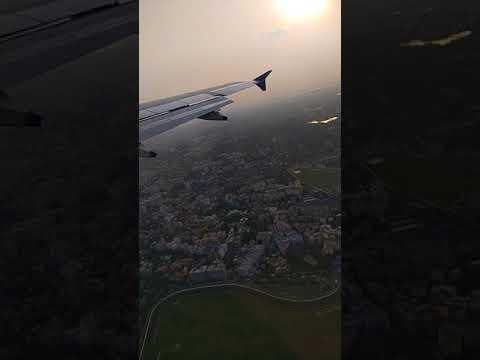 IndiGo takeoff from Mumbai Sahar International airport