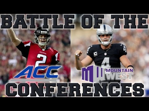 Which Conference Produces the Best NFL Players? | Mountain West vs ACC