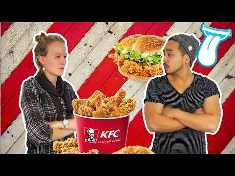 XXL KFC Chicken Wings DOUBLE DOWN deutsch TEST   KFC Coupons  FRIENDs-SPECIAL   IN ALLER MUNDE