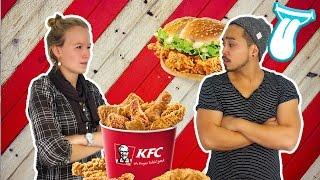 XXL KFC Chicken Wings DOUBLE DOWN deutsch TEST | KFC Coupons  FRIENDs-SPECIAL | IN ALLER MUNDE