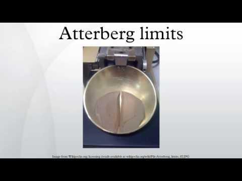 Atterberg limits