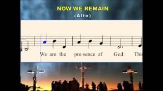 O25a Now we remain (Alto)