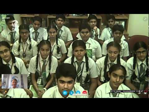 Peace Talk: St Marks Sr Sec Public School, India