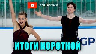 ИТОГИ КОРОТКОЙ ПРОГРАММЫ - Танцы на Льду. Юниорское Гран-При в Любляне 2021