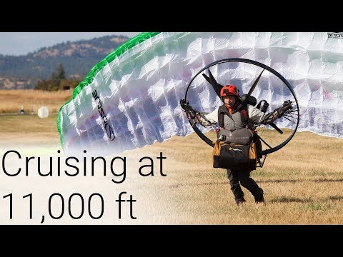 325 Miles In One Day On My Paramotor - Icarus Trophy Day Two