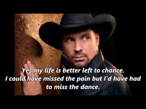 Garth Brooks  The Dance With Lyrics