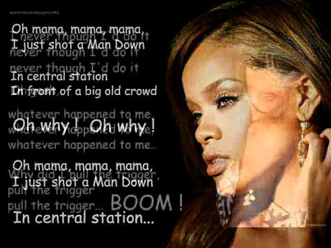 Rihanna - Man down Lyrics