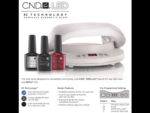 CND LED Lamp - Complete Chromatic Cure