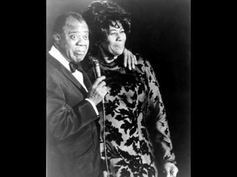 LOUIS ARMSTRONG ELLA FITZGERALD