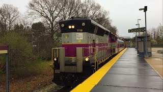 MBTA Middleboro Extra Thru Campello Station