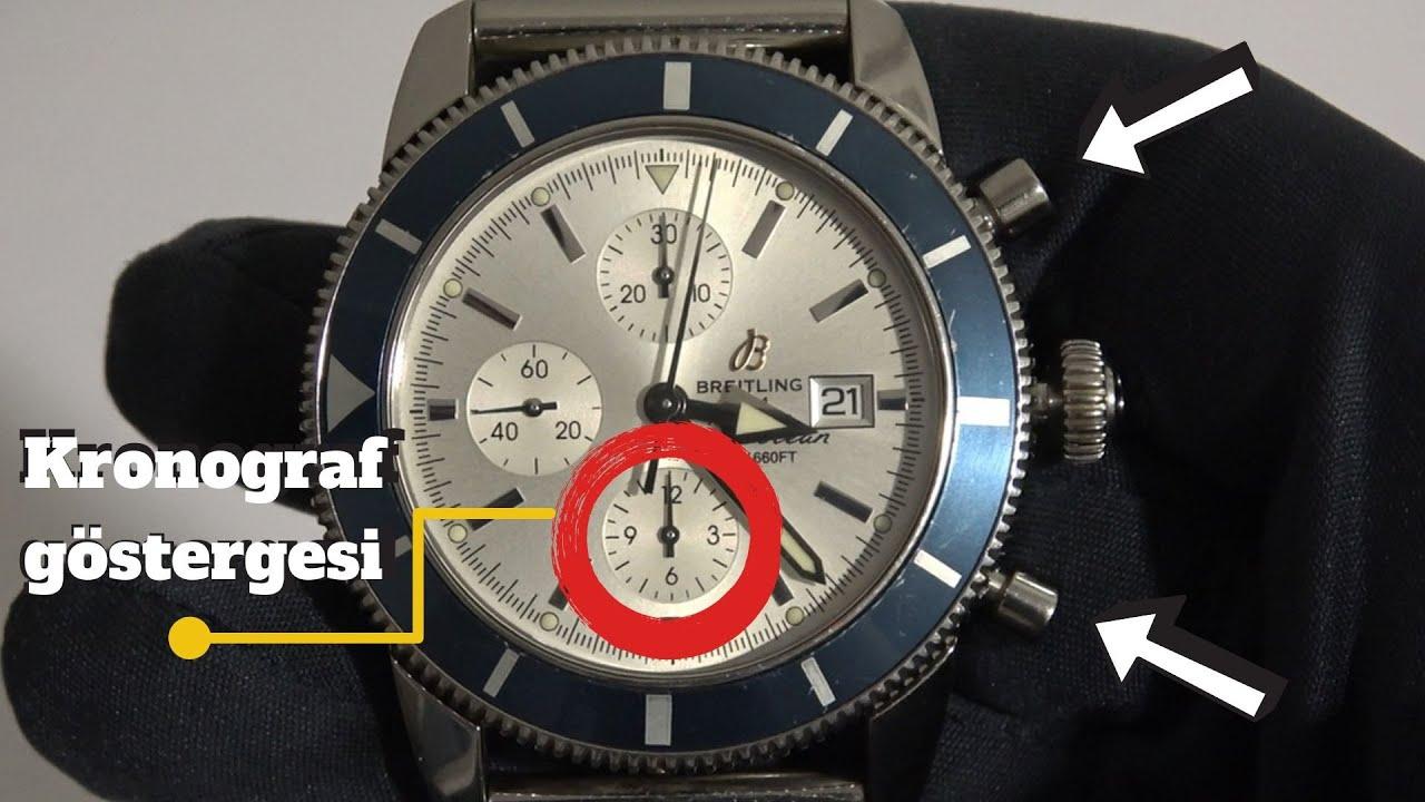 Kronograf Saat Nasıl Kullanılır