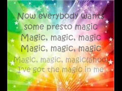 MAGIC LYRICS  BY: B.O.B