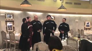 b085c78a12db Georgian Polyphonic Singers at Khareba Winery Supra Feast